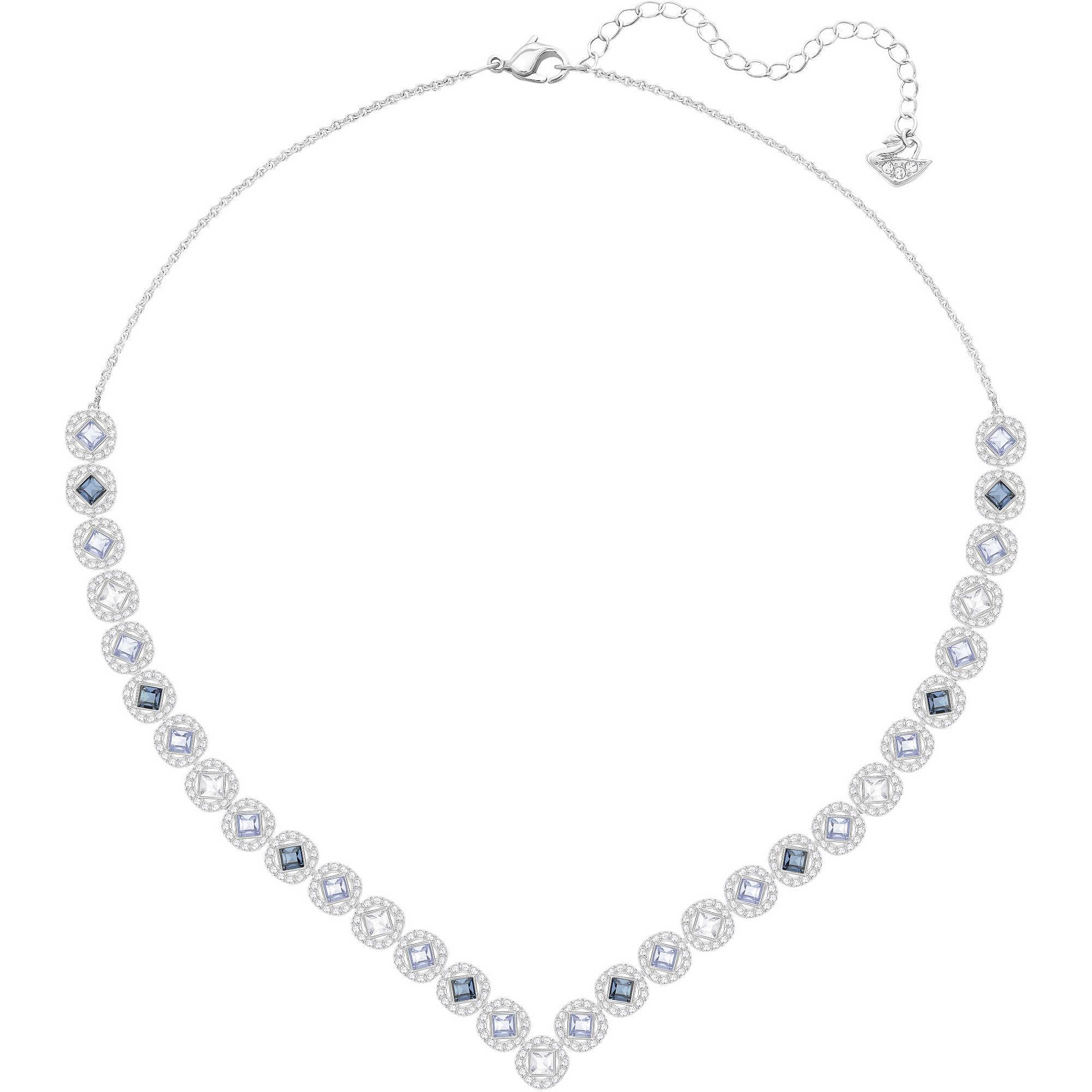 prezzo più basso 82532 b16da collana donna gioielli Swarovski Angelic Square 5294621
