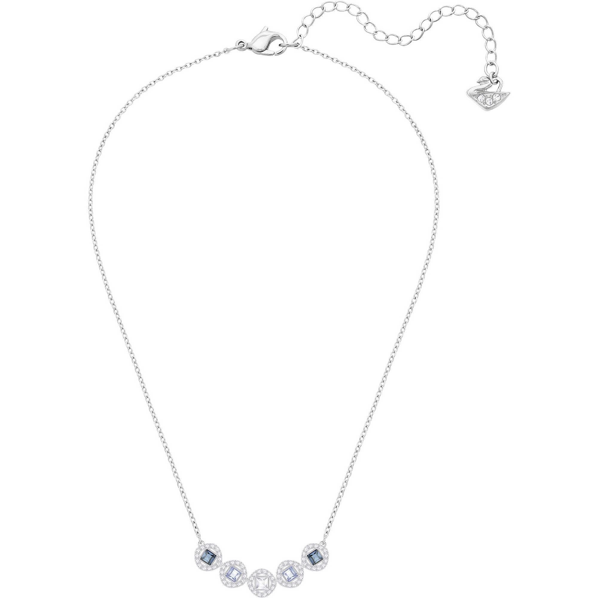 nuovo prodotto 3f8c2 83586 collana donna gioielli Swarovski Angelic Square 5294622