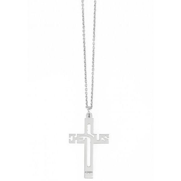 collana unisex gioielli Amen Padre Nostro CLCRGB
