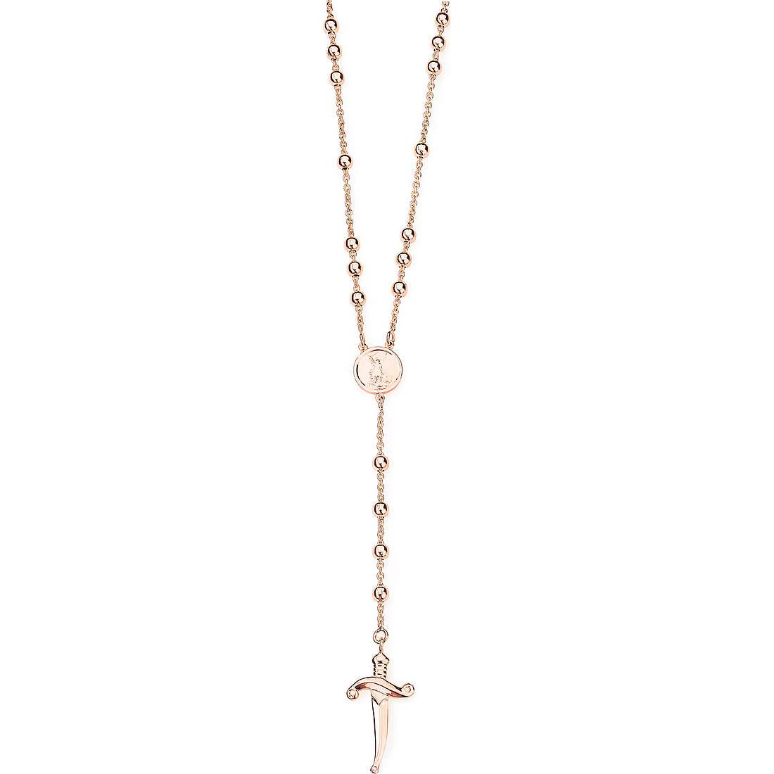 collana unisex gioielli Amen San Michele SM01R