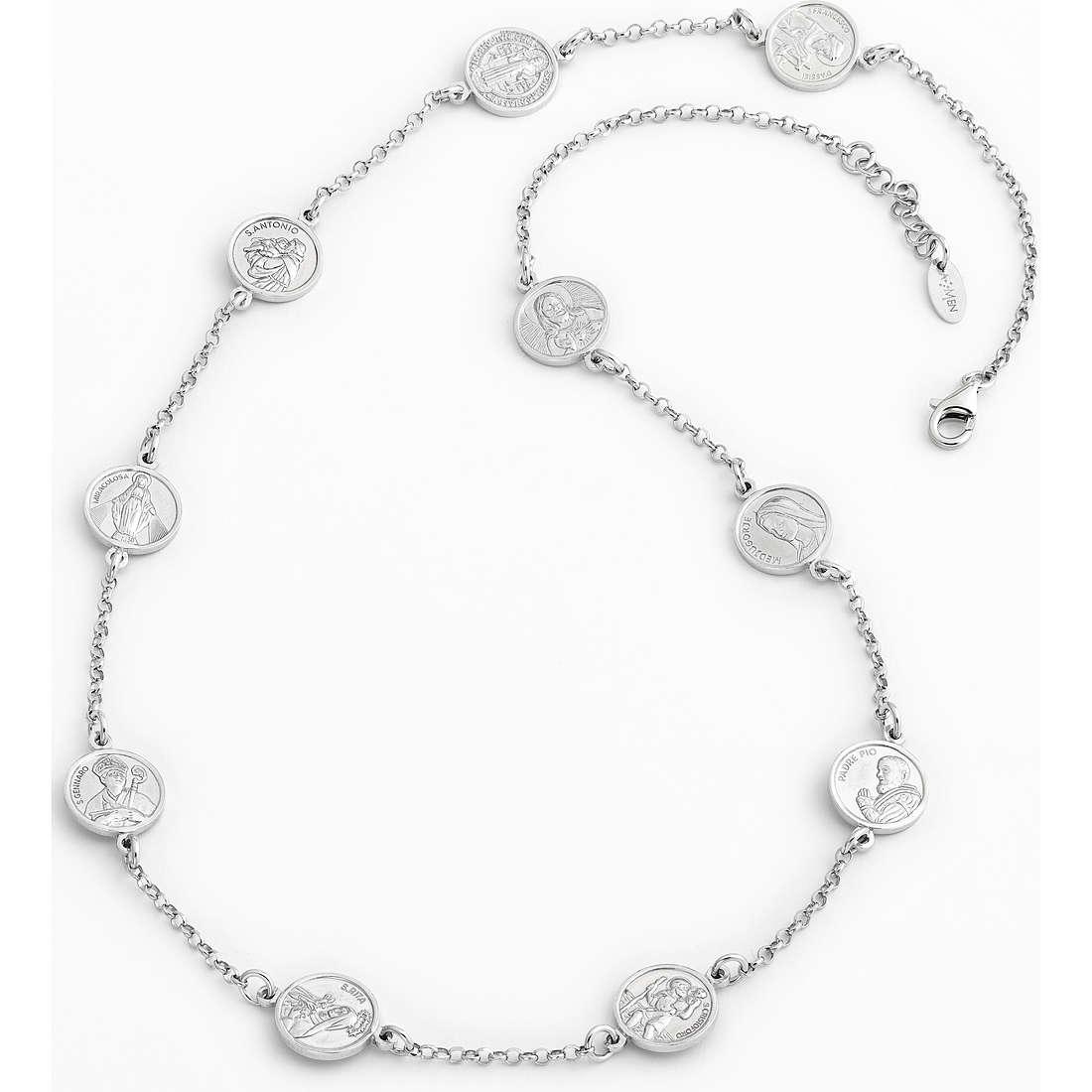 collana unisex gioielli Amen Santi COSA50
