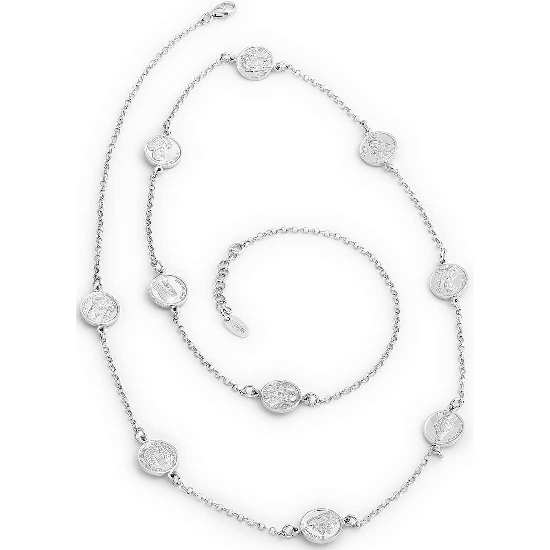 collana unisex gioielli Amen Santi COSA70