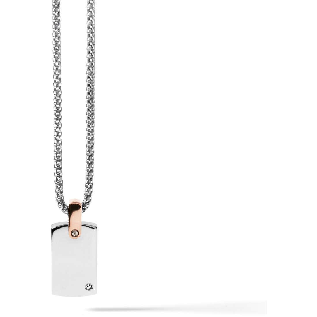 collana uomo gioielli Comete Acciaio UGL 431