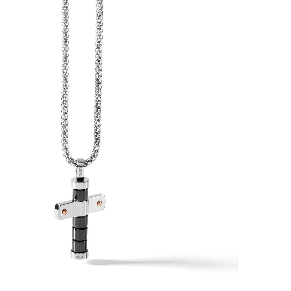collana uomo gioielli Comete Acciaio UGL 445