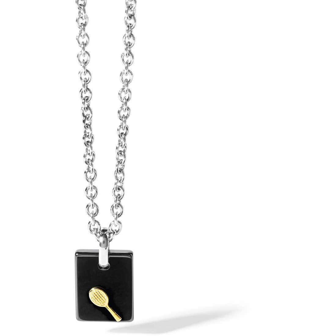collana uomo gioielli Comete Acciaio UGL 463