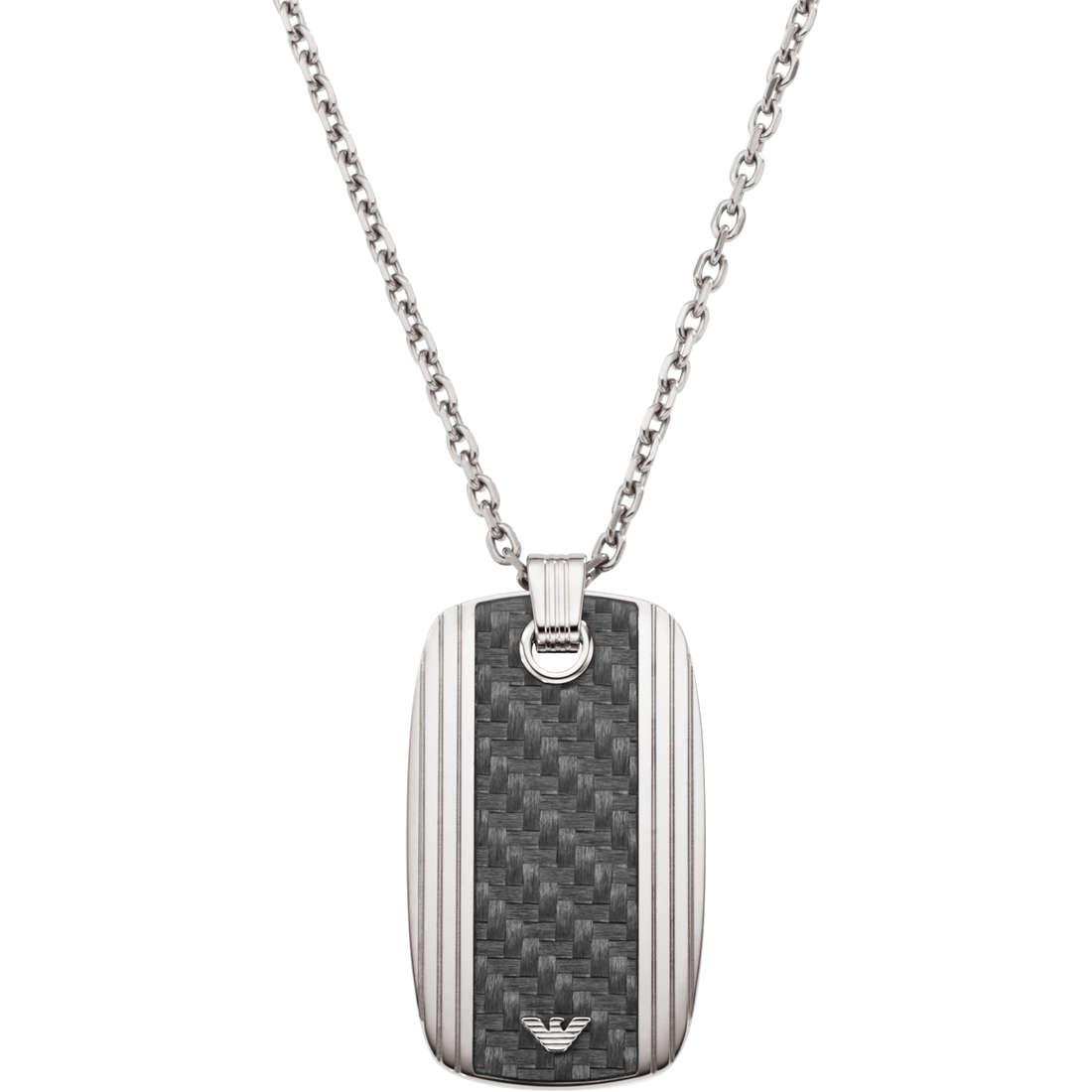 collana uomo gioielli Emporio Armani EGS1685040