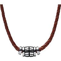 collana uomo gioielli Fossil Vintage Casual JF02687040