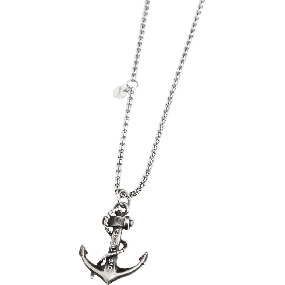 collana uomo gioielli Marlù Love The Sea 13CO027