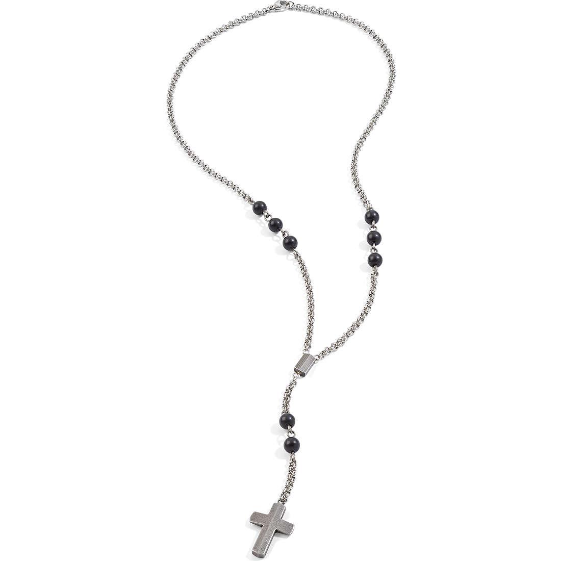 collana uomo gioielli Morellato Boules SACT01