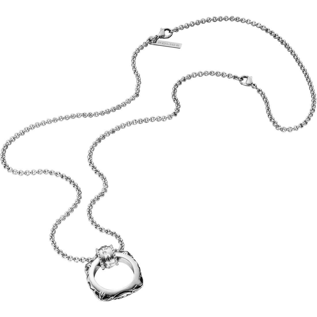 collana uomo gioielli Police S14AIB01C