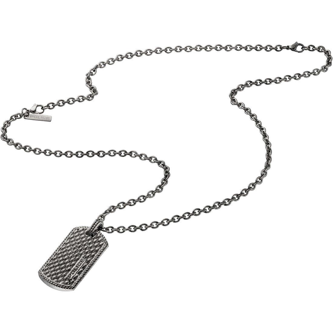 collana uomo gioielli Police S14AIE01C