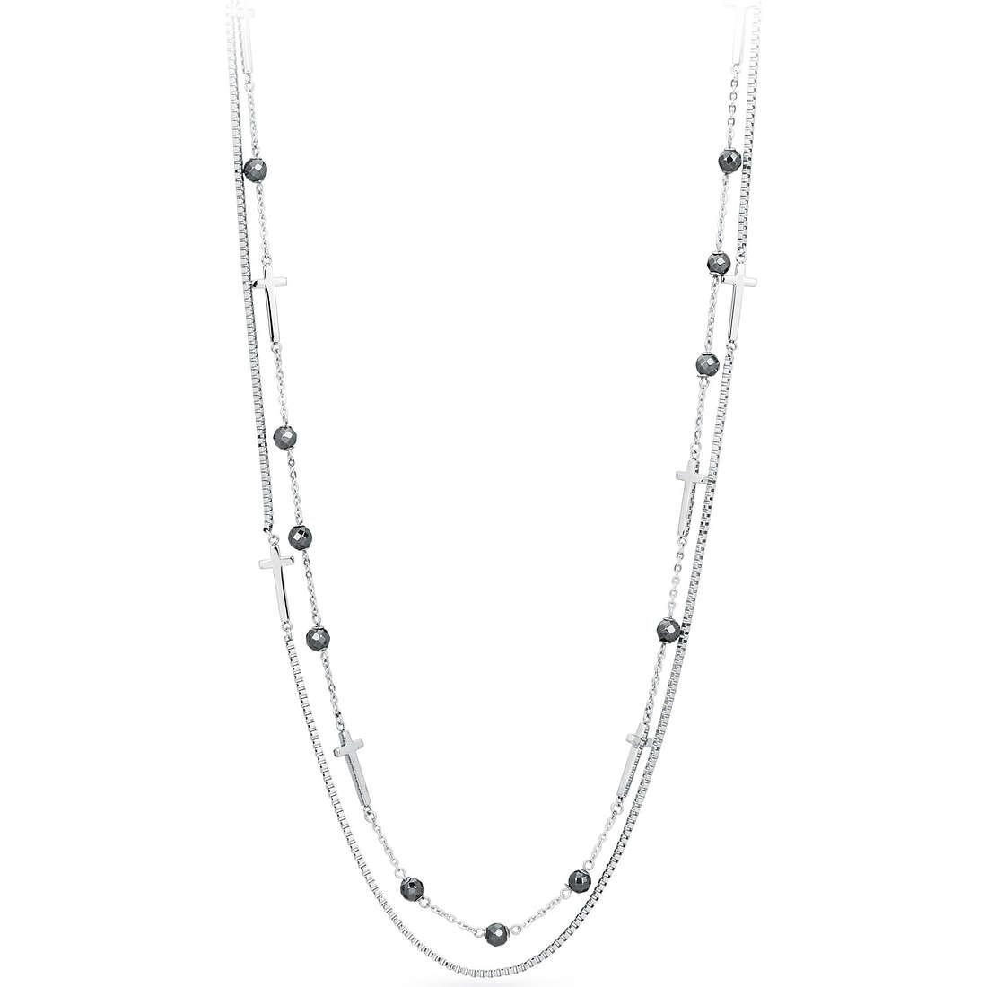 collana uomo gioielli Sagapò Croix SAGAPOSCZ03