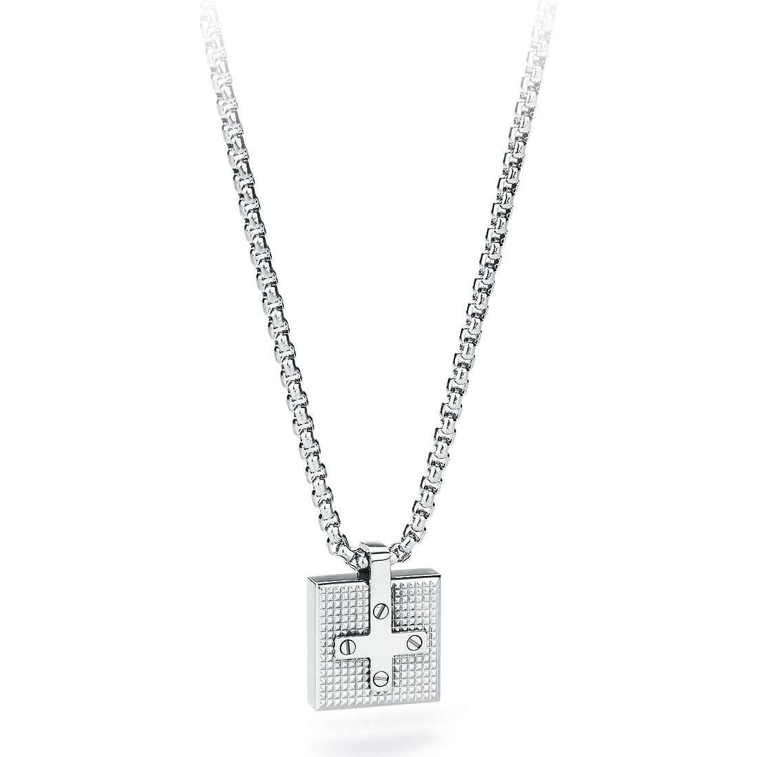 collana uomo gioielli Sagapò Croix SCX04