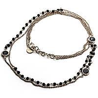 collier femme bijoux 4US Cesare Paciotti Black Harmony 4UCL1829W