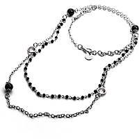collier femme bijoux 4US Cesare Paciotti Black Pupils 4UCL1817W