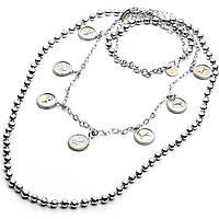 collier femme bijoux 4US Cesare Paciotti Light Lines 4UCL1823W