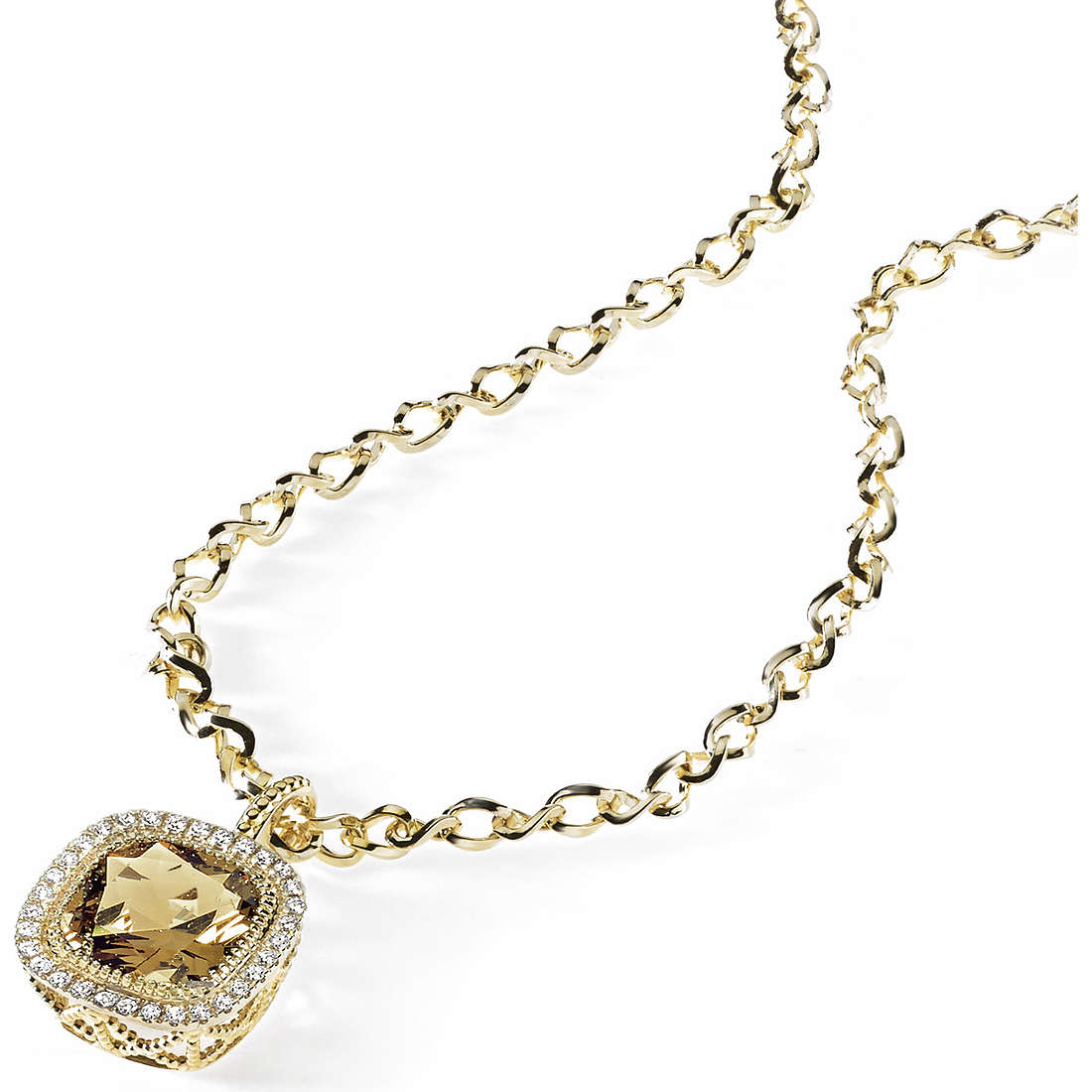 collier femme bijoux Ambrosia Bronzo ABG 001