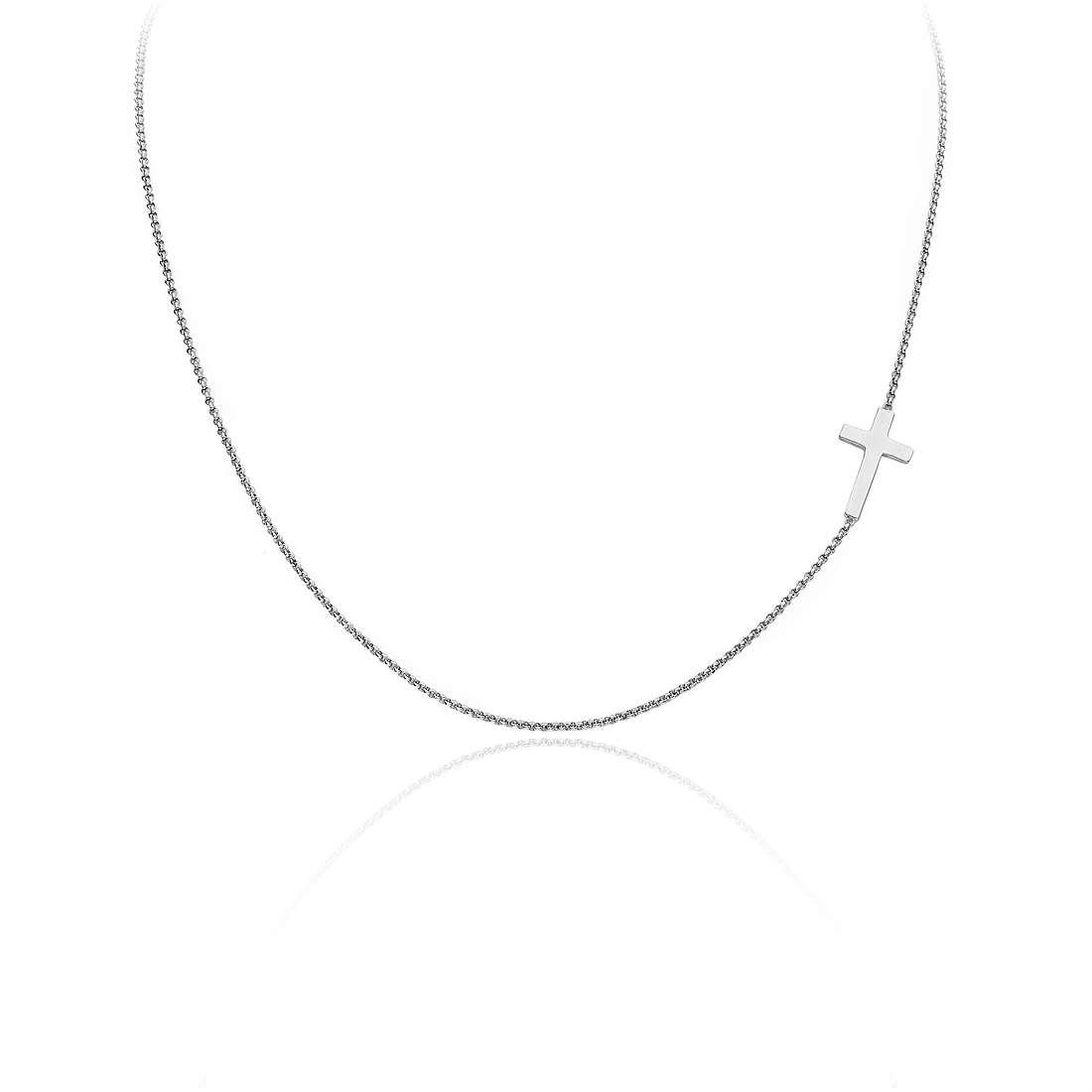 collier femme bijoux Amen Croce CLCB3