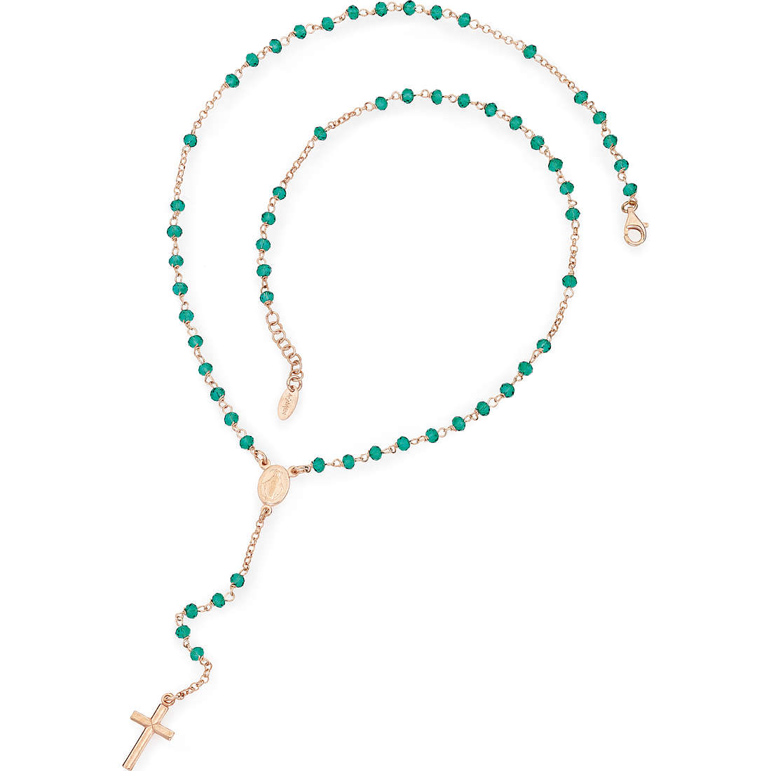 collier femme bijoux Amen Rosario CRORV4