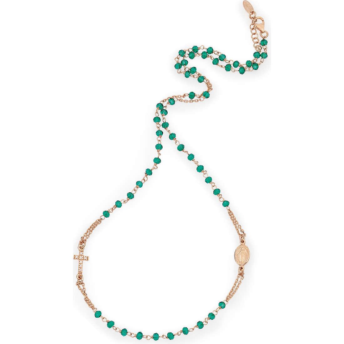 collier femme bijoux Amen Rosario CRORVZ3