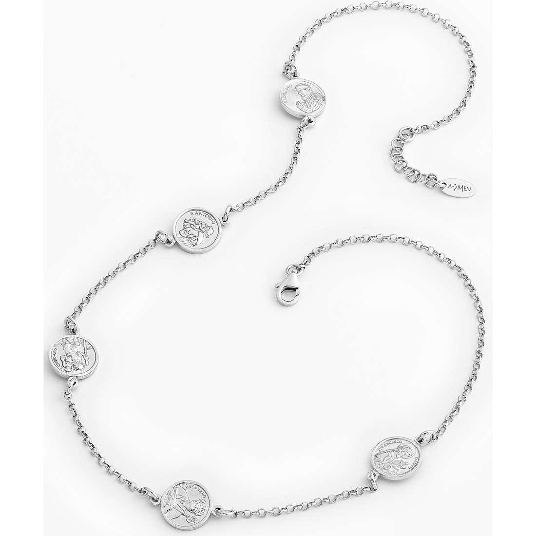 collier femme bijoux Amen Santi COSAM1
