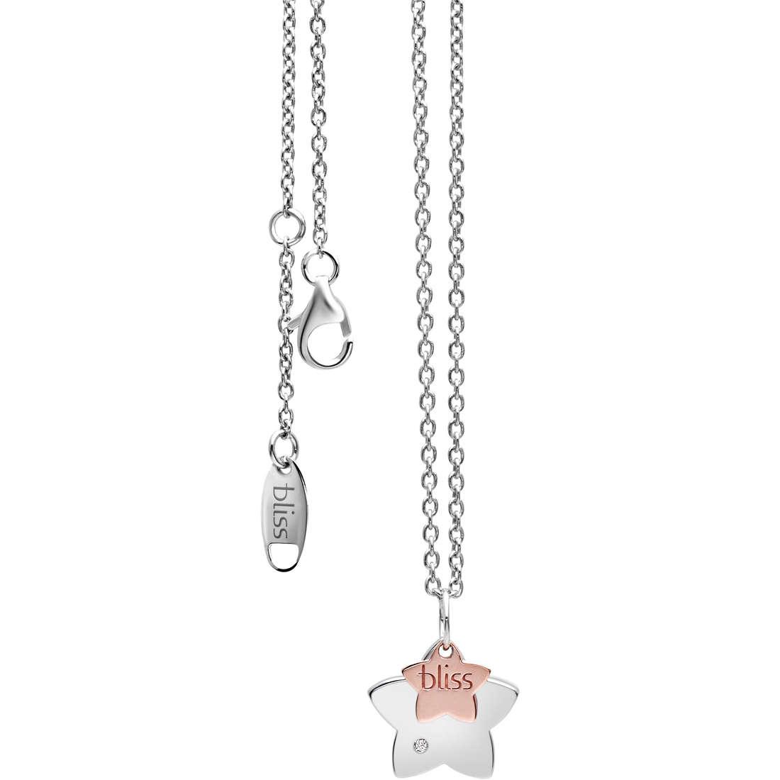 collier femme bijoux Bliss Twins 20058958
