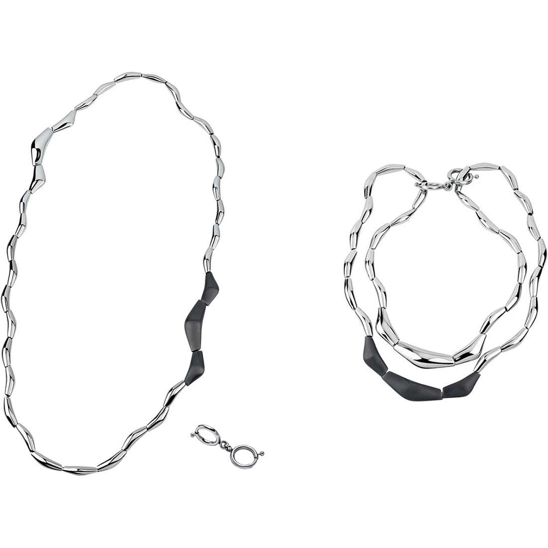 collier femme bijoux Breil Flowing TJ1819