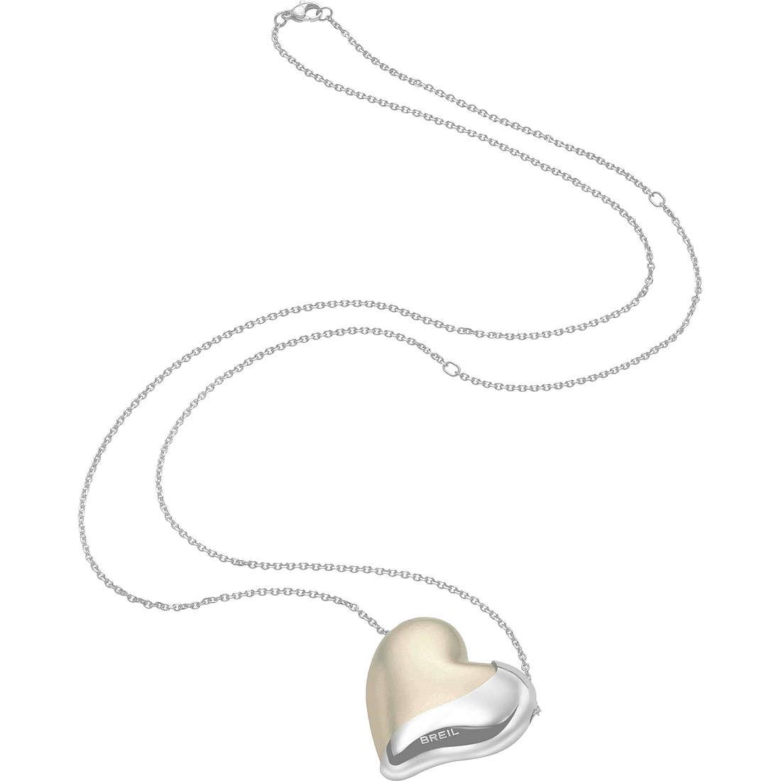 collier femme bijoux Breil HeartBreaker TJ1418