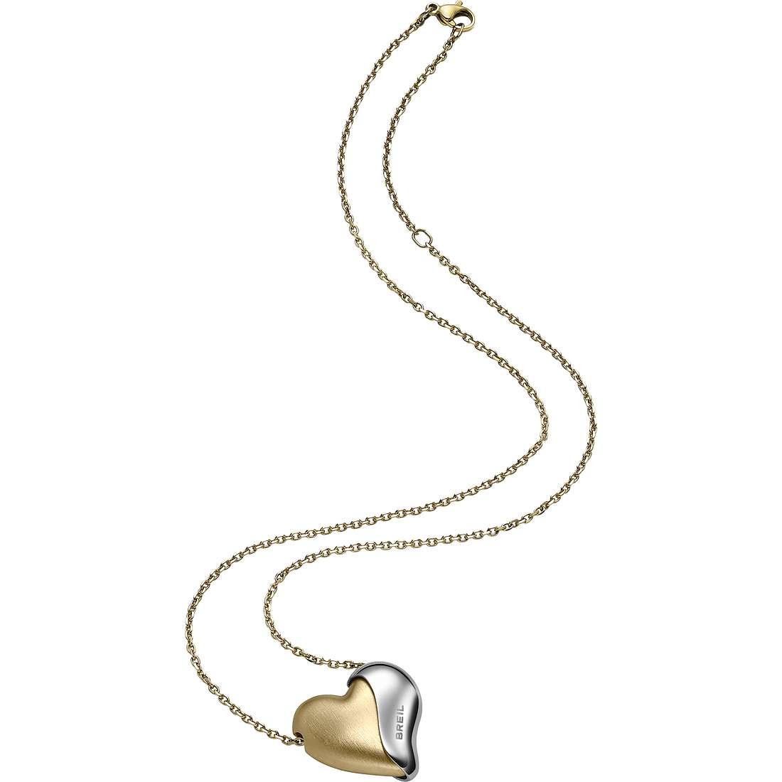 collier femme bijoux Breil HeartBreaker TJ1428