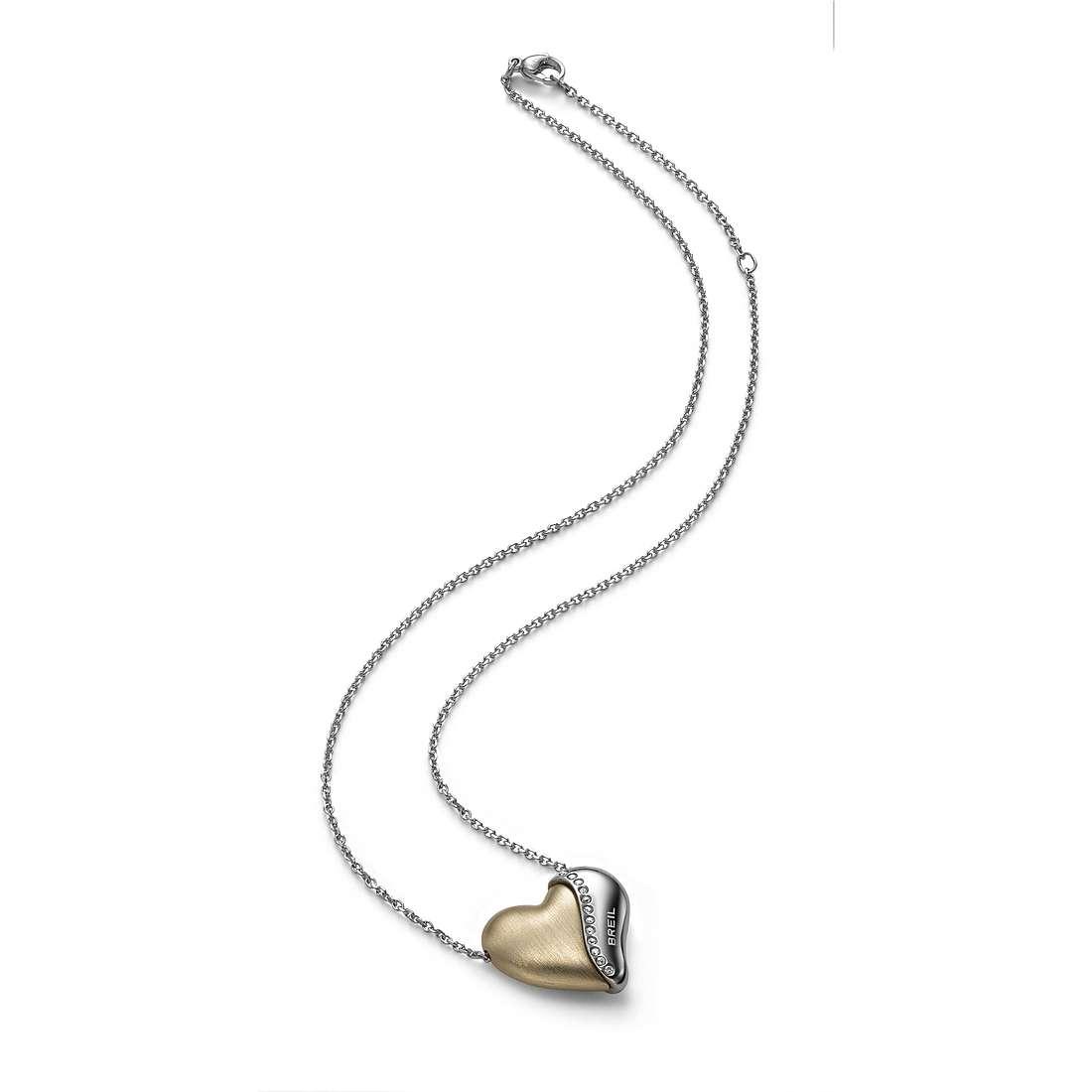 collier femme bijoux Breil HeartBreaker TJ1548