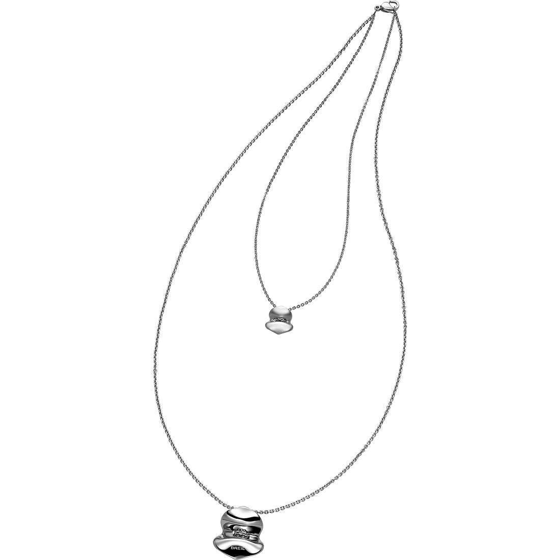 collier femme bijoux Breil Lucky TJ1692