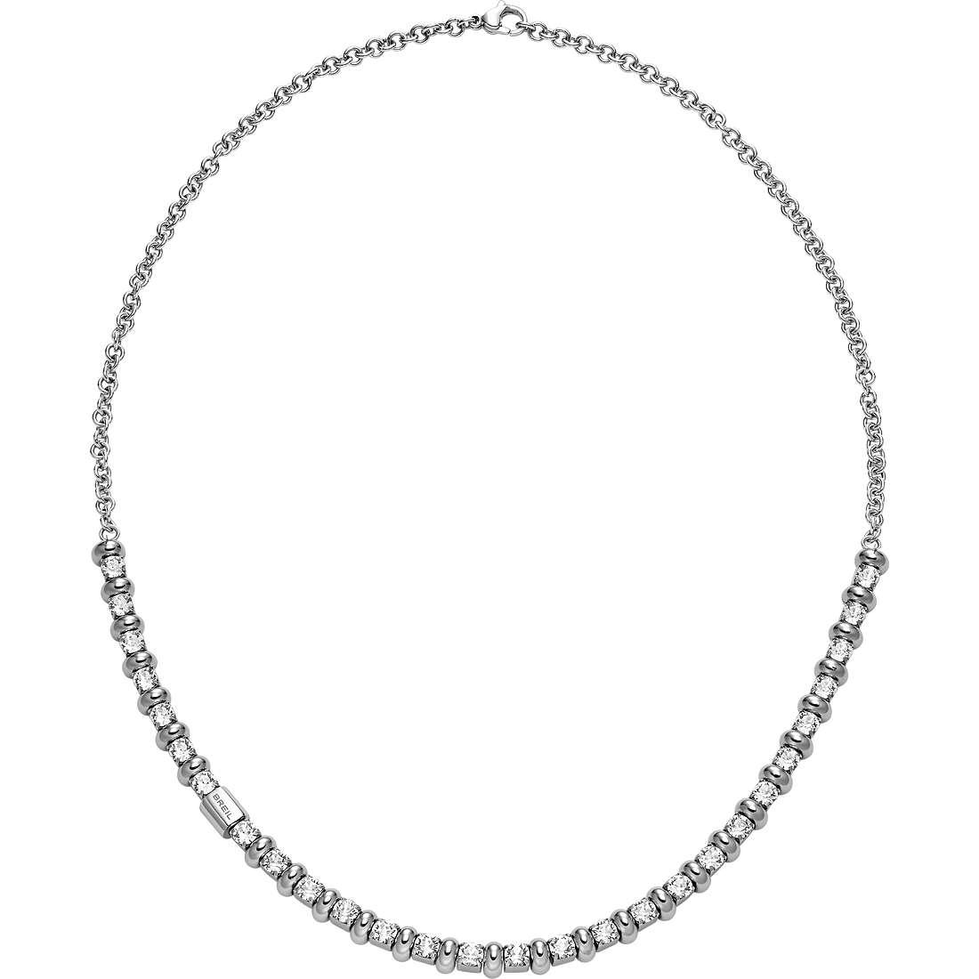 collier femme bijoux Breil Rolling Diamonts TJ1569