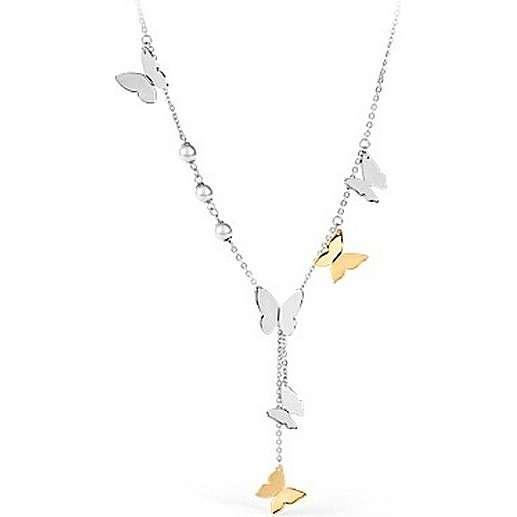 collier femme bijoux Brosway Papillon BPP01