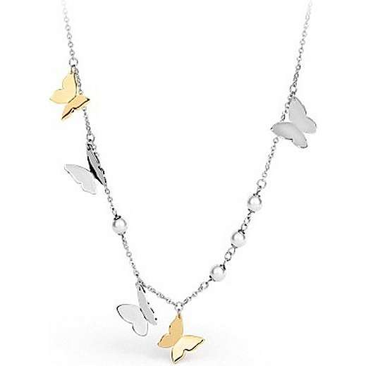 collier femme bijoux Brosway Papillon BPP02
