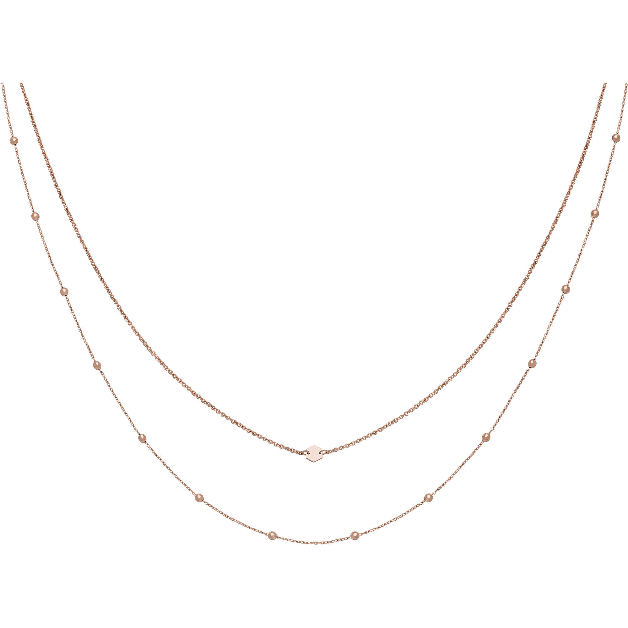 la moitié 21952 806b6 collier femme bijoux Cluse Essentielle CLJ20004 colliers Cluse