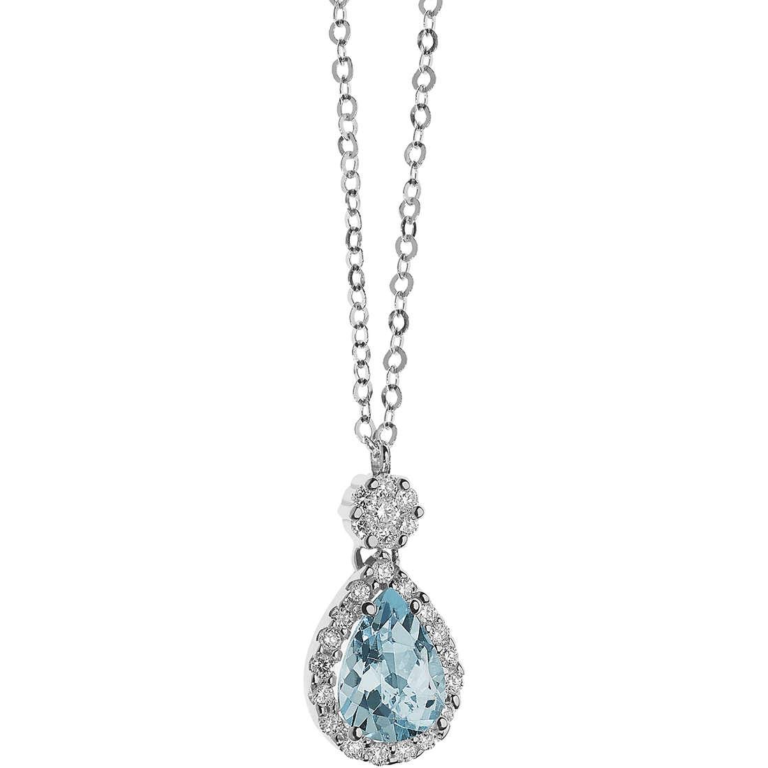collier femme bijoux Comete Acquamarina GLQ 258