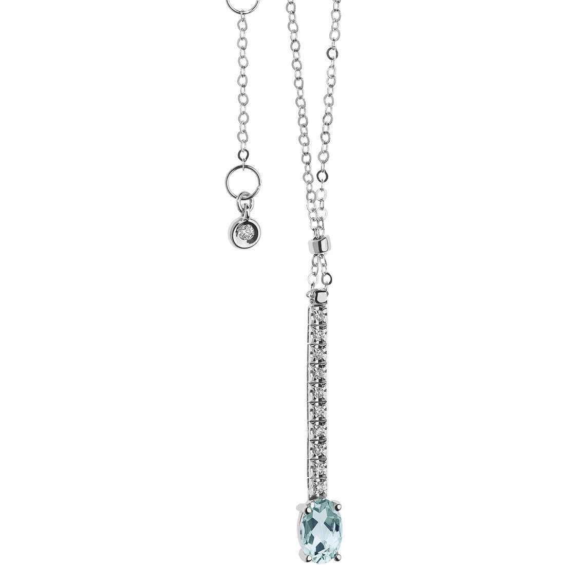 collier femme bijoux Comete Acquamarina GLQ 260