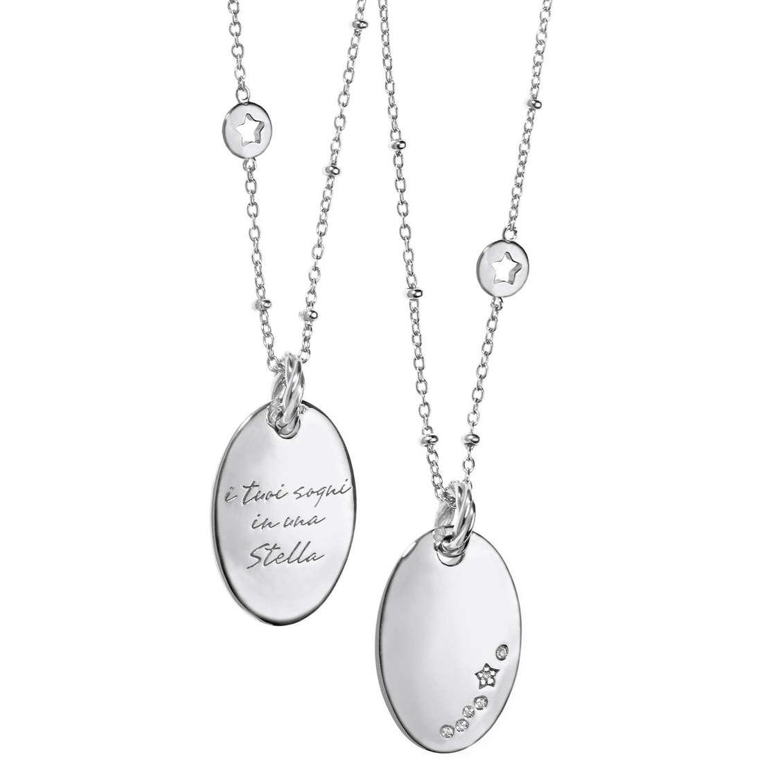 collier femme bijoux Comete Argento 925 GLA 113