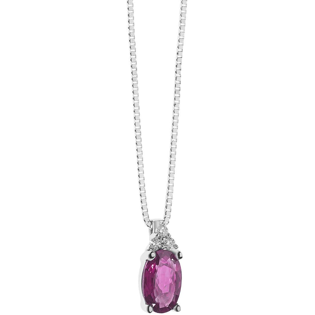 collier femme bijoux Comete Colore GLB 1222