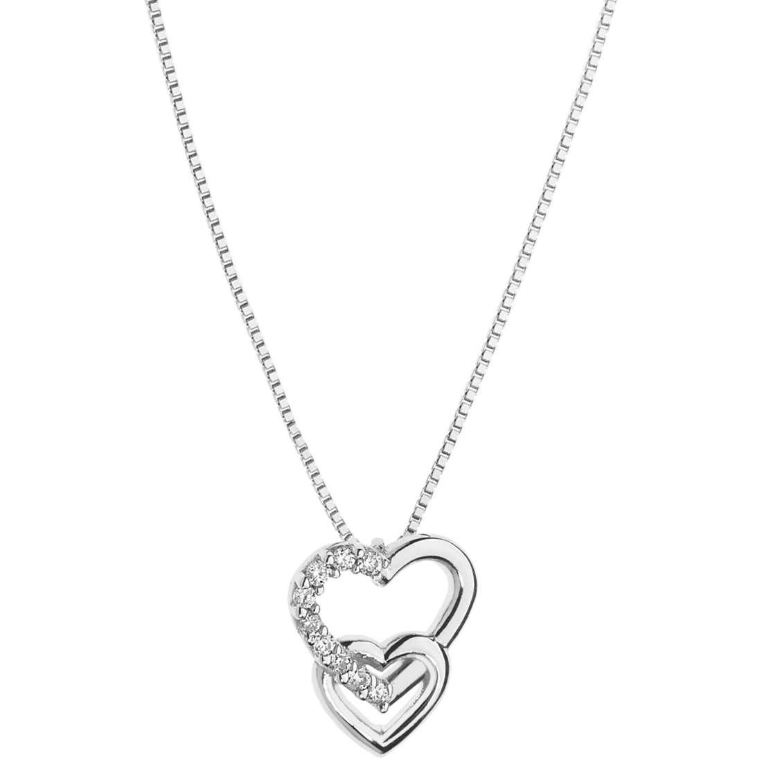 collier femme bijoux Comete Fantasie di diamanti GLB 1202