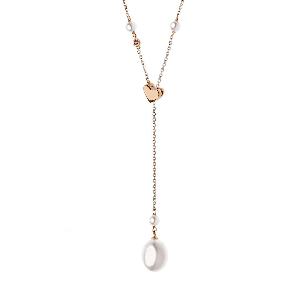 collier femme bijoux Comete Fantasie di perle GLP 449
