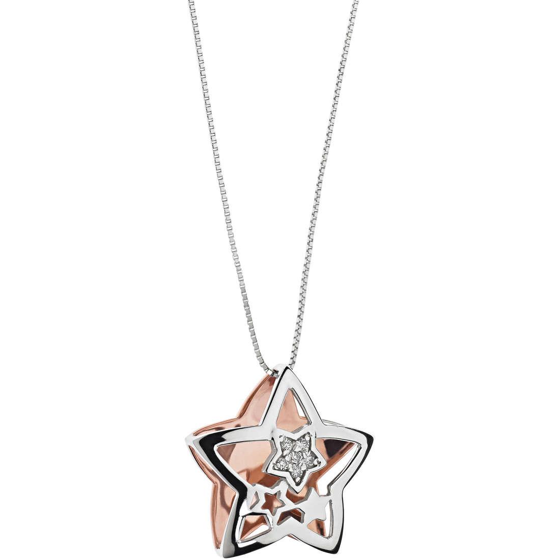 collier femme bijoux Comete Happy GLB 1126