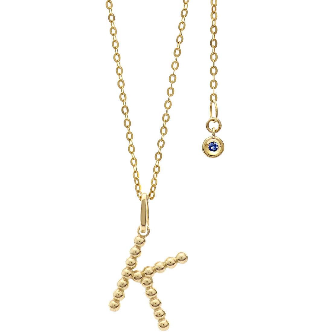 collier femme bijoux Comete Letterine GLB 1060