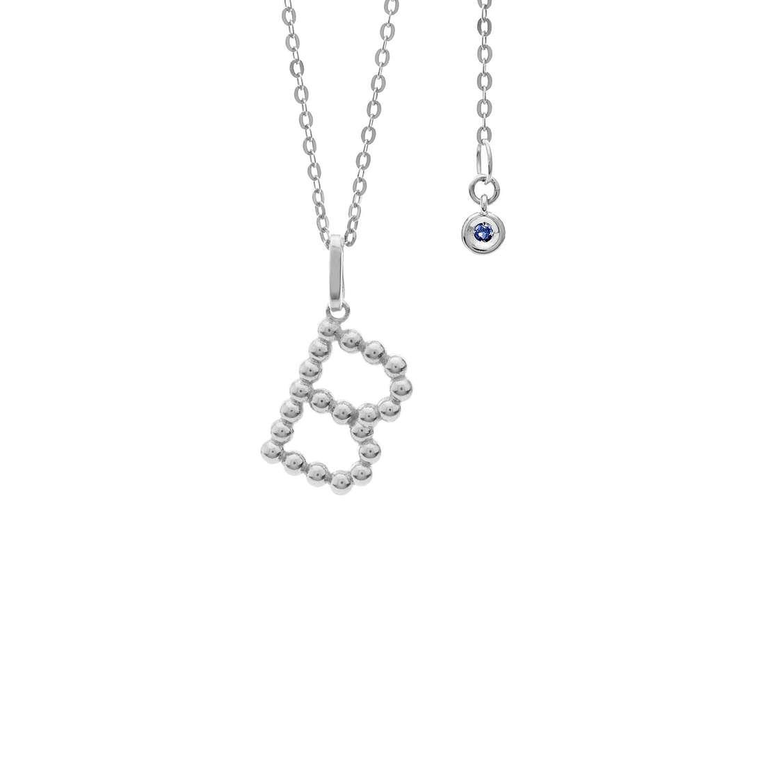 collier femme bijoux Comete Letterine GLB 1077