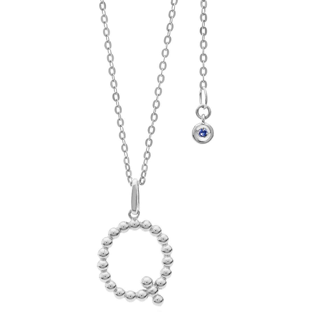 collier femme bijoux Comete Letterine GLB 1092