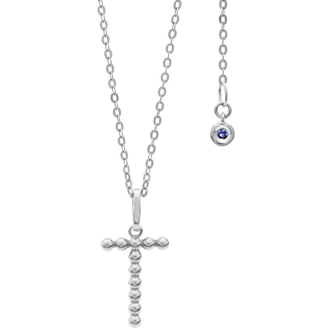 collier femme bijoux Comete Letterine GLB 1095