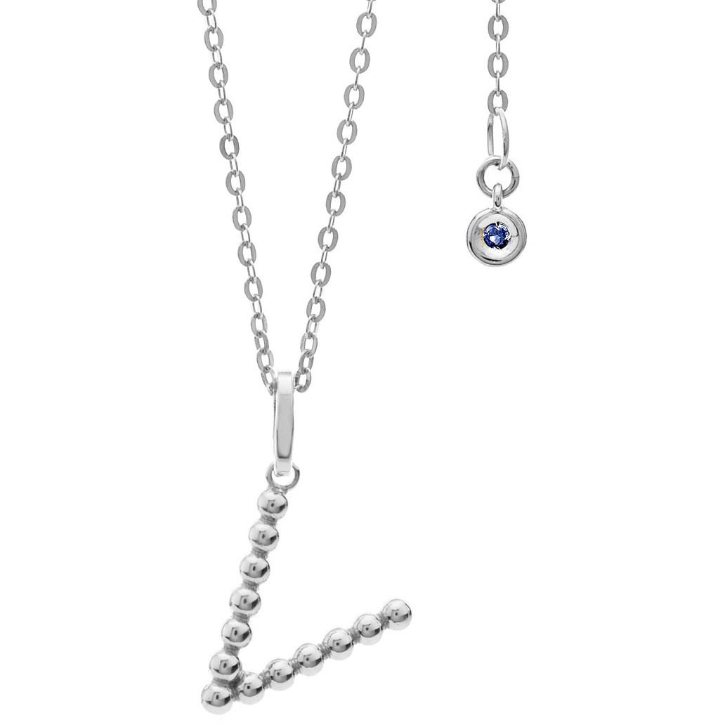 collier femme bijoux Comete Letterine GLB 1097