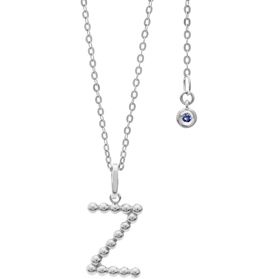 collier femme bijoux Comete Letterine GLB 1101