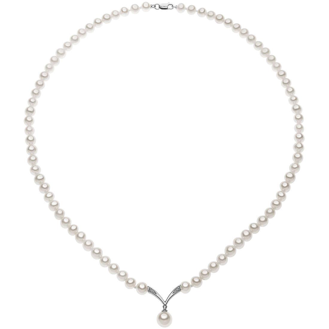 collier femme bijoux Comete Perle FWQ 216