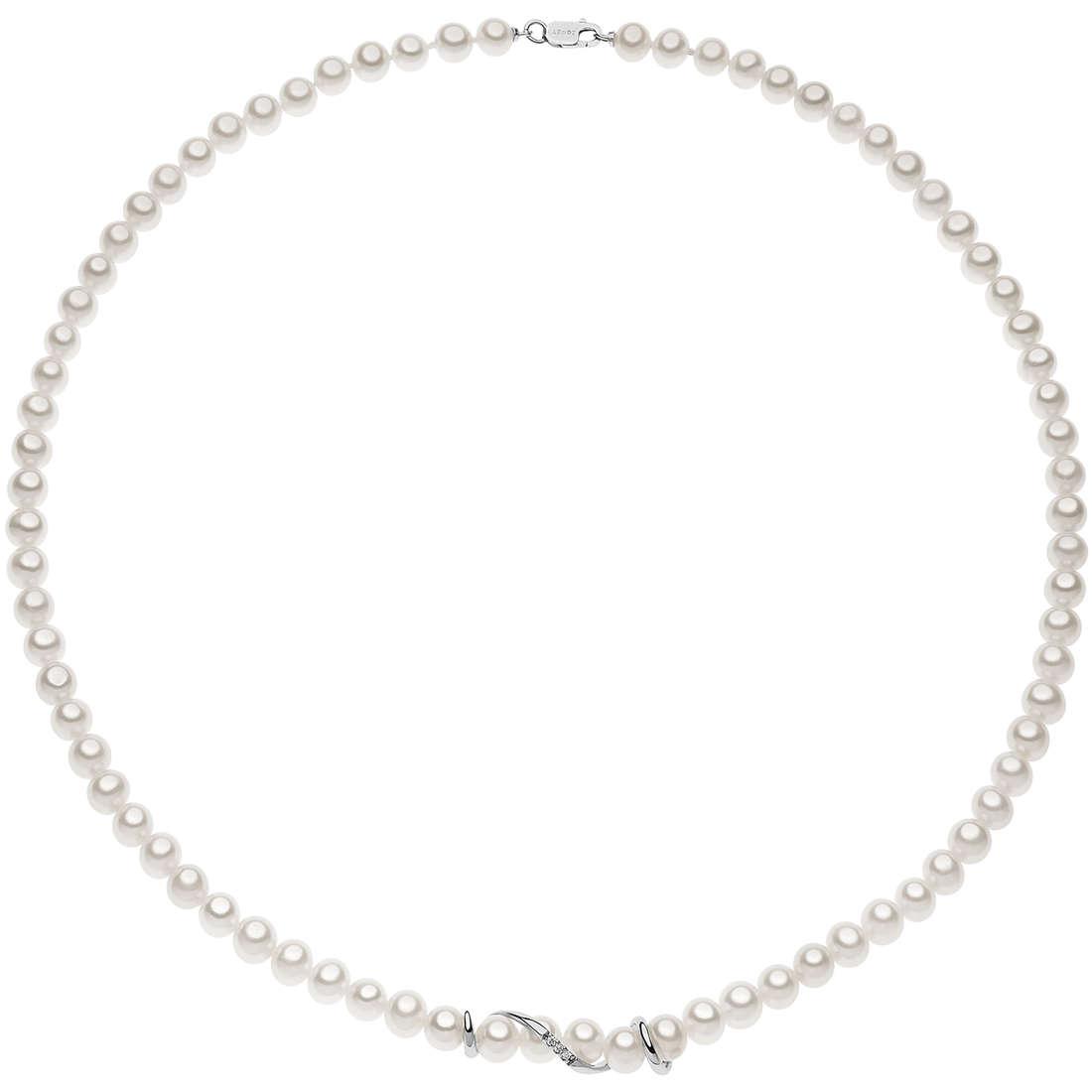 collier femme bijoux Comete Perle FWQ 218